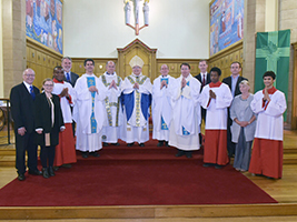 Inaugural Mass for seafarers in Aberdeen
