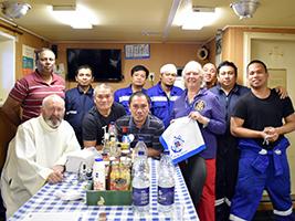 Sri Lankan seafarers supported