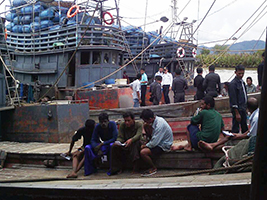 AoS leads action against fishing slavery