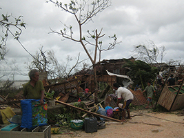 AoS extends support to fishers following typhoon