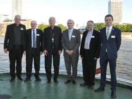 Day of Seafarer reception on HQS Wellington