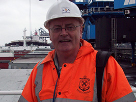 AoS supports crew after seafarer goes overboard