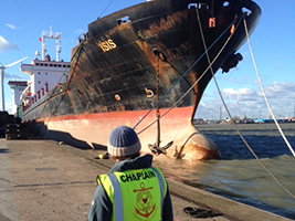 AoS helps crew of detained ship