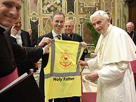 AoS Speaks out over Holy Father's Resignation