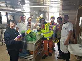 Easter joy for seafarers