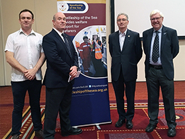 Glasgow Rotary hear about AoS work