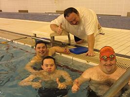 Leicester Saffron Swim Club Raise Money for AoS