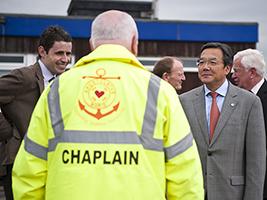UN Maritime Director Ship Visits